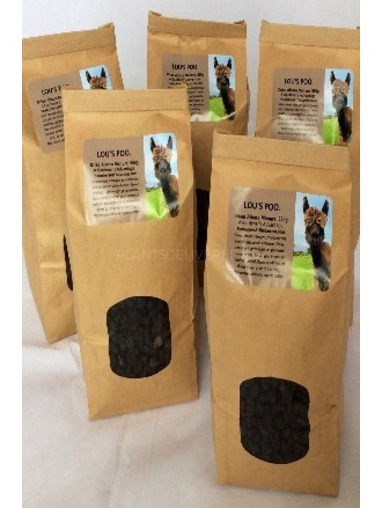 Lou's Poo - Dried Alpaca Fertiliser
