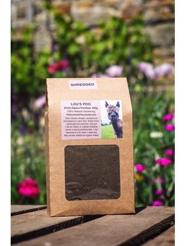 Lou's Poo Dried Alpaca Fertiliser