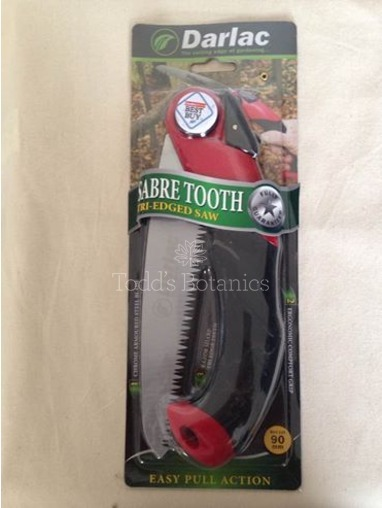 Sabre Tooth Tri Edged Saw