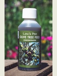 Lou's Poo Liquid Olive Tree Feed (concentrated)